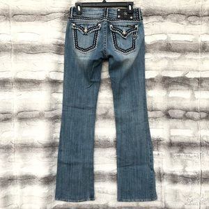 Miss Me Jeans Size 27 Light Wash Bootcut